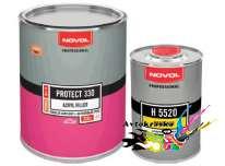 37341 Novol Protect 330 Грунт акриловый черный 1л+0,2л