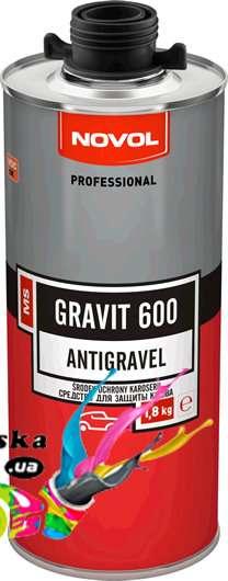 Гравитекс Novol 37844 Gravit 600 черное 1,8 кг