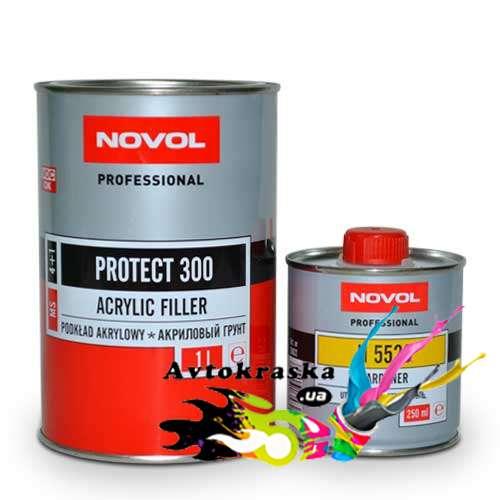 Акриловый Грунт Novol Protect 300 4+1 Черный 37041