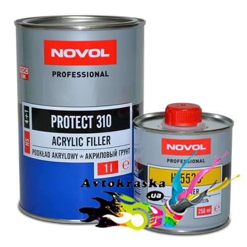 Акриловый грунт Novol 37111 Protect 310 серый