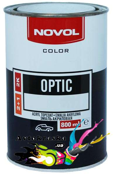 Акриловая эмаль Lada Novol 564 Кипарис 0,8л+0,4л