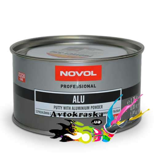 Novol Шпатлевка с алюминием 1165 1,8кг