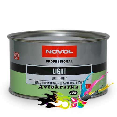 Novol 1502 Шпатлевка лёгкая Light 1л