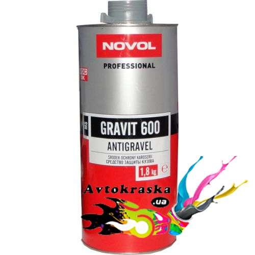 Антигравий Novol 37814 Gravit 600 серый 1,8 кг