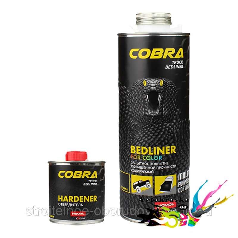 Novol 90364 Защитное покрытие Cobra бесцветное колеруемое 0,6л+0,2л