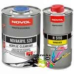 Novol 90031 Бесцветный акриловый лак Novakryl 520 VHS 1л+0,5л
