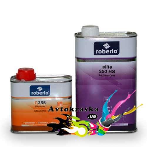 Roberlo акриловый лак 350 HS 1л+0,5л