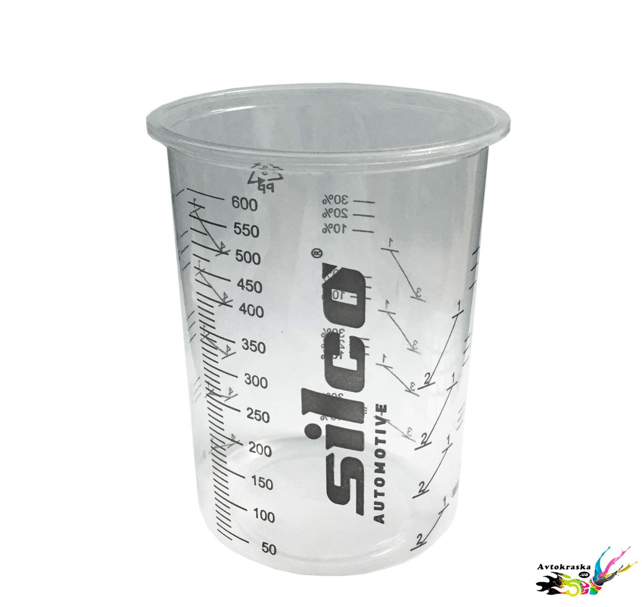 Мерная тара-Мерный стакан Silco 600 мл.