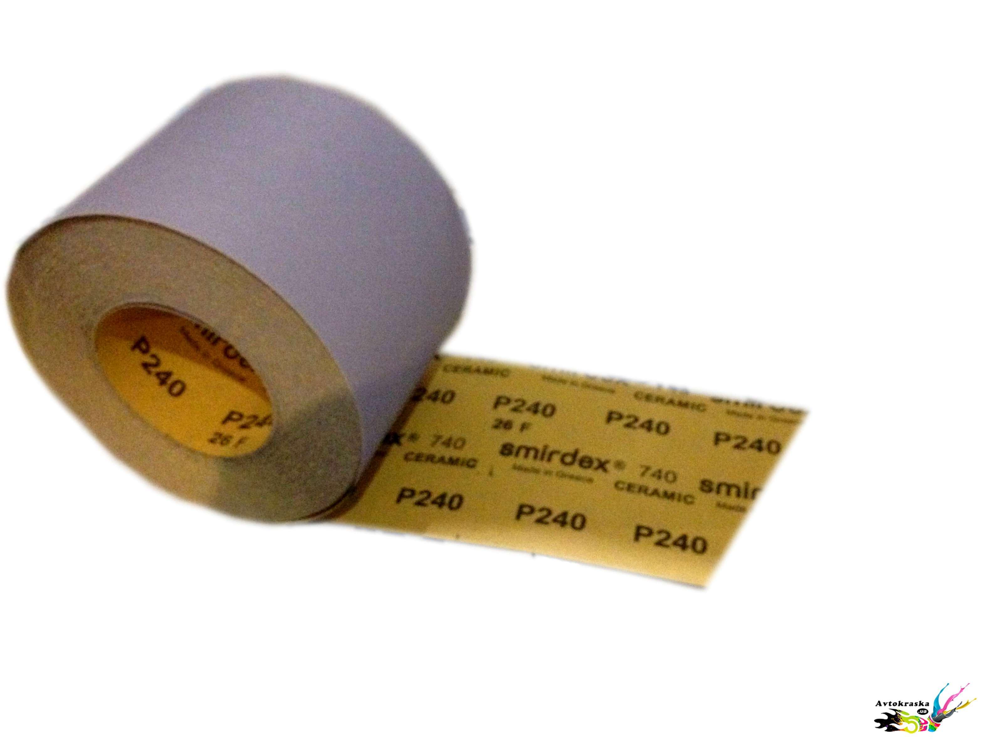 Наждачная бумага Smirdex Ceramic рулон P120