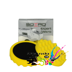 Полировальный круг Sotro профилированный D150/H25мм желтый универсальный