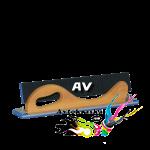 Рубанок Uni шлифовальный Sotro с липучкой зажимами AV 70*420мм