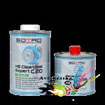 Лак HS акриловый SOTRO 2K HS 2:1 Acryl Clearcoat Expert C20 1 л+0,5 л