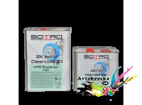 Лак UHS акриловый SOTRO 2K 2:1 Acryl Clearcoat Superior C30 5 л+2,5 л