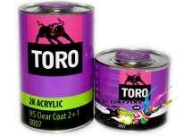 Toro Акриловый лак автомобильный 8007 HS Clear coat 1л+0,5л